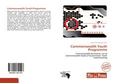 Couverture de Commonwealth Youth Programme