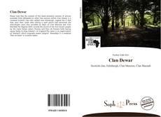 Portada del libro de Clan Dewar