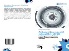 Bookcover of Zimbabwe Government of National Unity of 2009