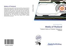 Bookcover of Media of Thailand