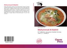 Buchcover von Mohammad Al-Bakhit