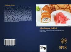 Couverture de Abdelkader Bakhti