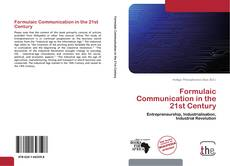 Capa do livro de Formulaic Communication in the 21st Century