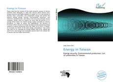 Bookcover of Energy in Taiwan