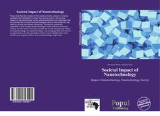 Copertina di Societal Impact of Nanotechnology