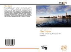 Bookcover of Clan Gayre