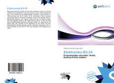 Capa do livro de Elektronika B3-34