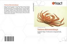 Capa do livro de Tatiana Baranovskaya