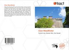 Bookcover of Clan MacAlister