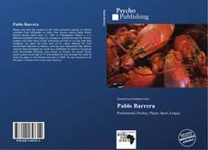 Copertina di Pablo Barrera