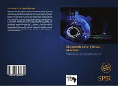Capa do livro de Microsoft Java Virtual Machine