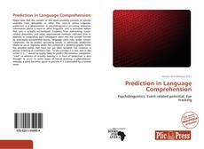 Обложка Prediction in Language Comprehension