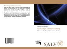 Bookcover of Knowledge Entrepreneurship