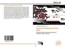 Borítókép a  Vermont College of Fine Arts - hoz