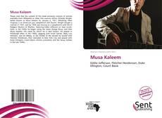 Buchcover von Musa Kaleem