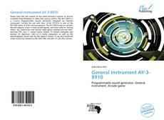 Bookcover of General Instrument AY-3-8910