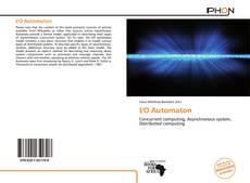 Bookcover of I/O Automaton