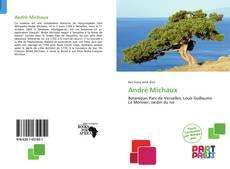 Bookcover of André Michaux