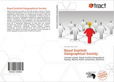 Portada del libro de Royal Scottish Geographical Society