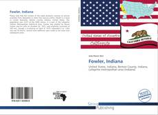 Bookcover of Fowler, Indiana