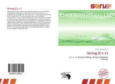 Couverture de String (C++)