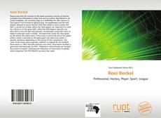 Portada del libro de Roei Beckel