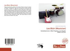 Bookcover of Lee Blair (Musician)