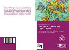 European Convention (1999–2000) kitap kapağı
