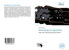 Bookcover of Marketing Co-operation