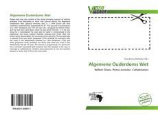 Bookcover of Algemene Ouderdoms Wet