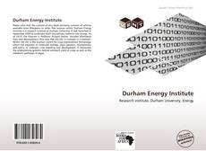 Bookcover of Durham Energy Institute