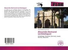 Capa do livro de Alexandre Bertrand (archéologue)