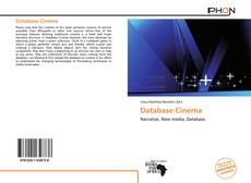 Bookcover of Database Cinema