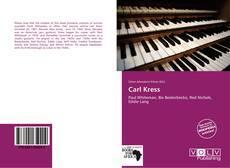 Bookcover of Carl Kress