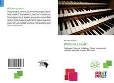 Обложка William Leavitt
