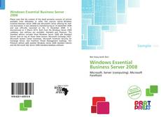 Обложка Windows Essential Business Server 2008