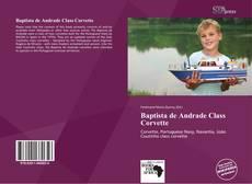 Capa do livro de Baptista de Andrade Class Corvette