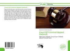 Portada del libro de Court Of Criminal Appeal (Ireland)