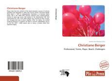 Couverture de Christiane Berger
