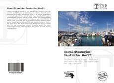Capa do livro de Howaldtswerke-Deutsche Werft