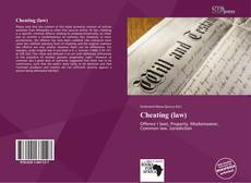 Capa do livro de Cheating (law)