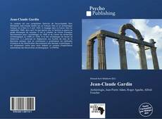 Portada del libro de Jean-Claude Gardin