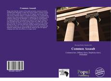 Portada del libro de Common Assault