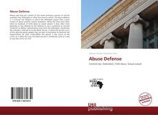 Abuse Defense kitap kapağı