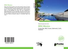 Bookcover of MSC Musica