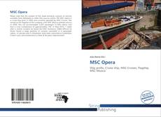 Bookcover of MSC Opera