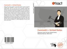Bookcover of Caminetti v. United States
