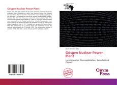Portada del libro de Gösgen Nuclear Power Plant