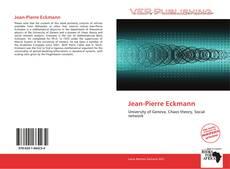 Bookcover of Jean-Pierre Eckmann