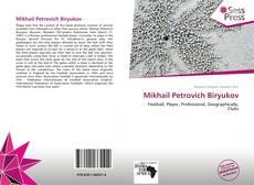 Buchcover von Mikhail Petrovich Biryukov